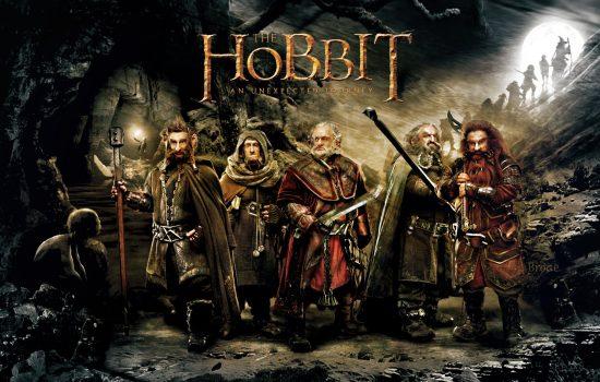 Les nains The Hobbit, bagarre