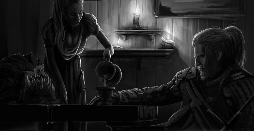 Artwork Geralt The Witcher