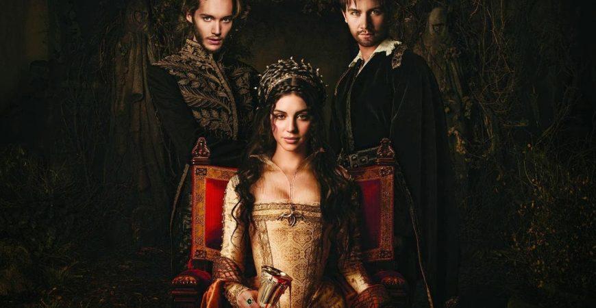 Reign : Le Destin d'une reine, affiche officielle de la série