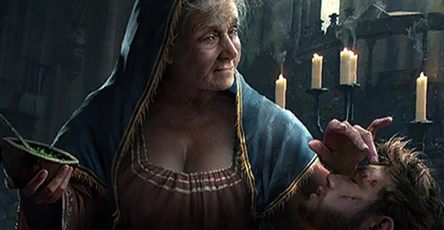 Nenneke, prêtresse de Melitele