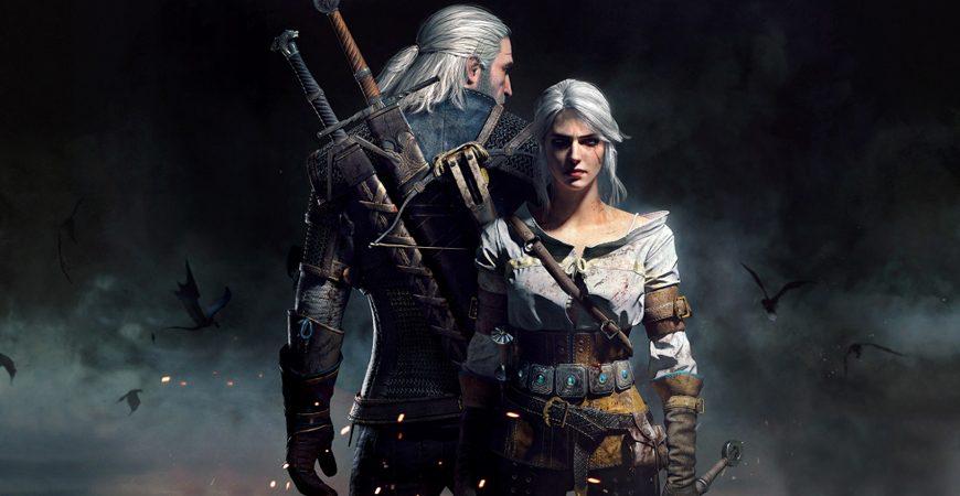 The Witcher 3, les sorceleurs Geralt et Ciri