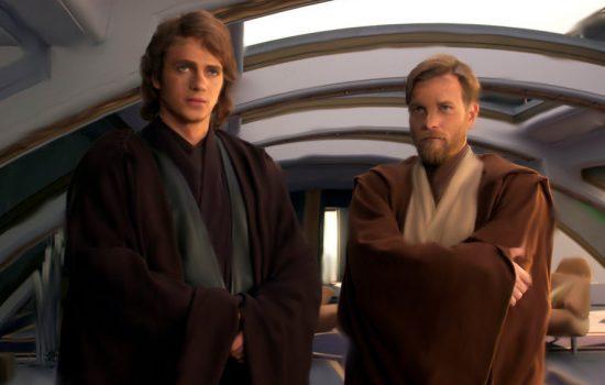 Obi-Wan et Anakin - Episode III