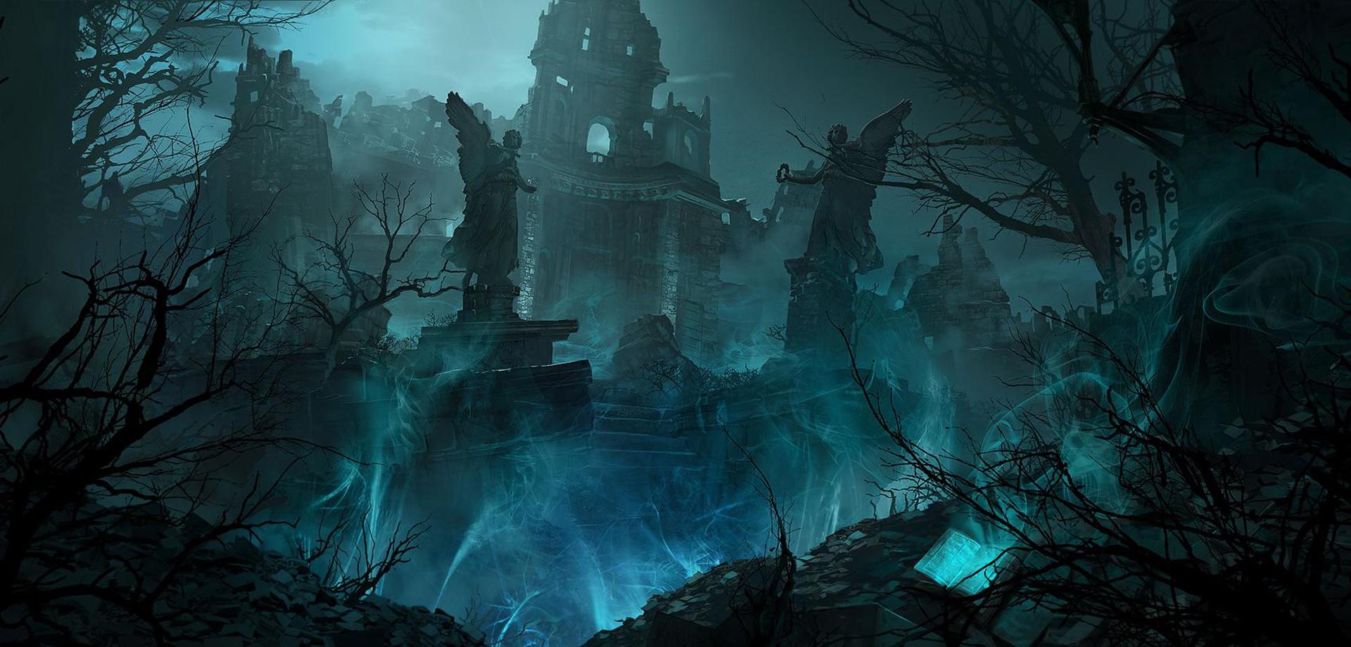 Les ïles obscures, ruines des chambres des arcanes