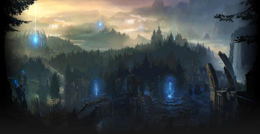 Aperçu des paysages de Runeterra