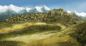 Terre du Milieu - Edoras