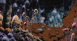 forêt toxique - Miyazaki - Kaze no tani no Naushika