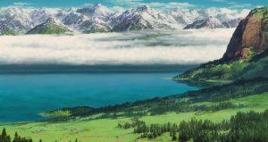 lac aux étoiles - Hauru no Ugoku Shiro