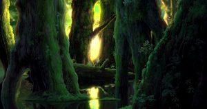 La forêt - Mononoke Hime