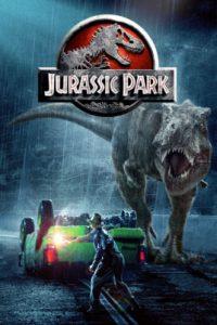 Affiche du film Jurassic Park.
