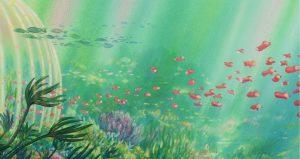 royaume sous-marin - Gake no ue no Ponyo