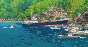 ville et port - Miyazaki - Gake no ue no Ponyo