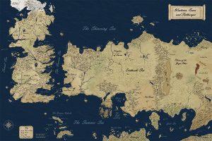 Westeros et Essos
