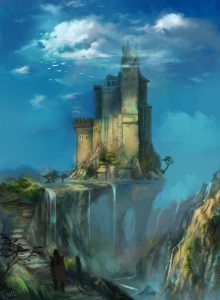 Val D'Arryn - The Eyrie