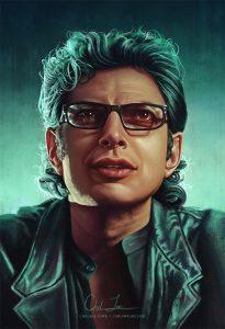 personnages : Ian Malcolm (Jeff Goldblum)