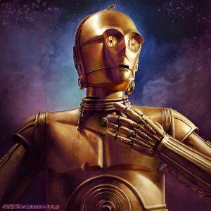 © C-3PO by Steve Argyle