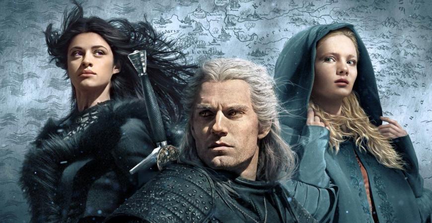 Cover Série The Witcher Netflix