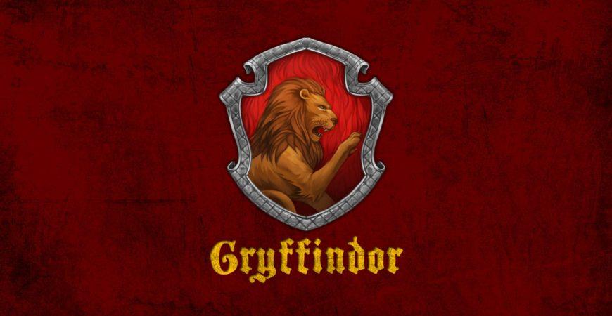 Harry Potter Les 4 Maisons De Poudlard Gryffondor