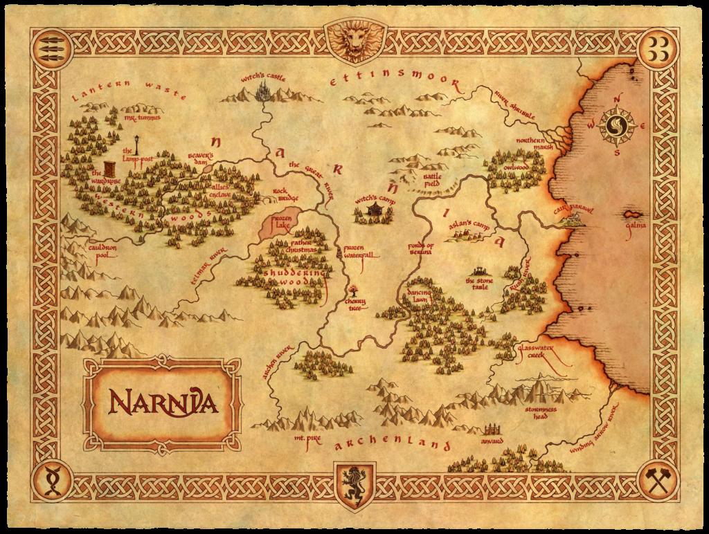Narnia - carte