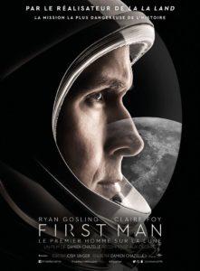 Affiche du film First Man, le premier Homme sur la Lune